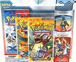 Pokemon XY Flashfire Trading Card Game Booster Pack Pin Set- Mega Lucario
