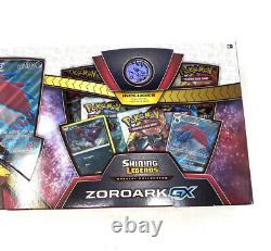 Pokemon ZOROARK GX Special Collection Box Set Trading Cards Shining Legends