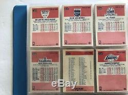 Pro Graded 8 Bgs Michael Jordan #57 Rookie Card & Full 1986 Fleer 132 Card Set