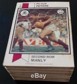 Scanlens 1974 Rugby League Full Set 115/115 Excellent + Trading Card
