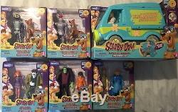 Scooby-Doo 50th Anniversary Figures Set New