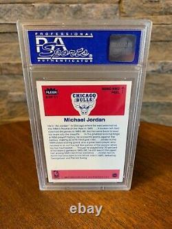 Set Of Michael Jordan Rookie Cards Graded PSA 8