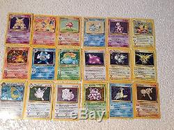 Shadowless Charizard! 1st edition base set 4/102 LOT hologram rare tons of cards