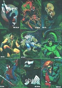 Spiderman Fleer Ultra 1995 Set (150) + Golden Web Set (9) & Masterpieces Set (9)