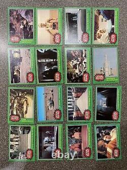 Star Wars 1977 Topps Series 4 Green Trading Cards (No Stickers) Complete Set, NM