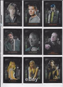 A-22 Steven Williams Supernatural Season 3 Rufus Turner Autograph//Auto Card