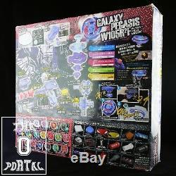 TAKARA TOMY Beyblade BB76 Galaxy Pegasis DX Set Metal Fusion V. JP-ThePortal0