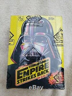 The Empire Strikes Back (Star Wars) Series 3 Trading Cards Box BBCE Certified