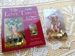 The Love Tarot By Liz Dean Boxed Set Of Sealed Cards & Book 2007 Htf
