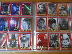 STAR WARS  JOURNEY TO STAR WARS THE LAST JEDI  by TOPPS   FOIL CARDS 169 to 216