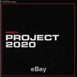 Topps Project 2020 Complete set of cards 1-100 IN HAND