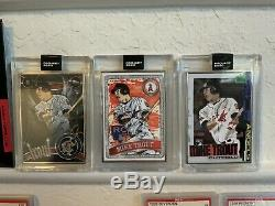 Topps Project 2020 Mike Trout RC AP Set of 3 /20 Baller, Jamieson, & Rochester