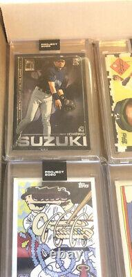 Topps Project 2020 Set 1-400 all cards In Hand Ermsy Trout Baller Ichiro
