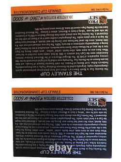 Two 1990-91 Pro set Stanley Cup Holograms