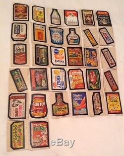 ULTRA RARE! VINTAGE WACKY PACKAGES COMPLETE SET 5th SERIES