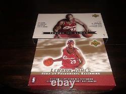 Upper Deck LeBron James Rookie Card Box Sets