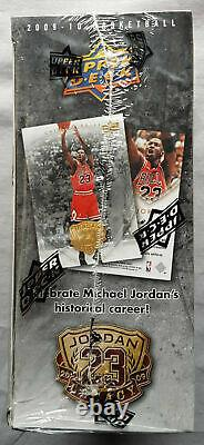 Upper Deck Michael Jordan 2009-10 Legacy Box Set Trading Cards Mj