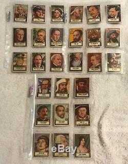 Vintage 1952 TOPPS LOOK'N SEE TRADING CARDS babe ruth COMPLETE SET (#1-#135)