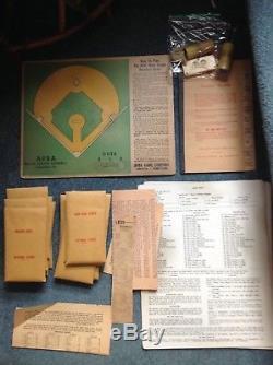 Vintage 1956 APBA Baseball Card Set & Original Game Set