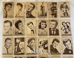 Vintage 1959 Nu Cards Rock And Roll Stars Complete 64 Card Set Not Topps