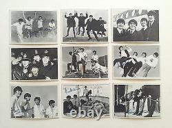 Vintage 1964 Topps Beatles 3rd Series B&w Signature Trading Cards Complete Set