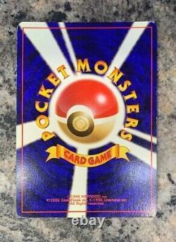 Vintage 1996 Pokemon TCG Charizard Holo (Base Set) 006