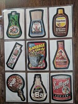 Wacky Packages complete 16th Series Set. With both Scoot variations and puzzle