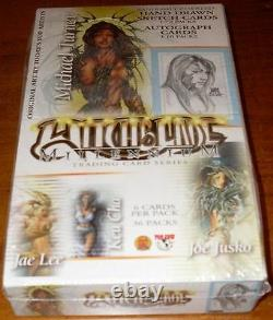 Witchblade Millennium by Michael Turner Box of Cards from Dynamic Forces 2000