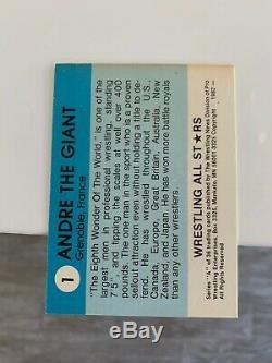 Wrestling All Stars Cards 1982 1983 Complete Set (108 Cards) HOGAN, FLAIR, ANDRE