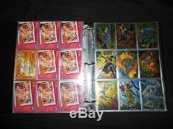 X-men 1995 Fleer Ultra Master Card Set Walmart Gold Binder, Chase Promos Mint