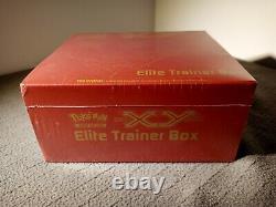 XY Base Set (Yveltal Red) Elite Trainer Box Pokemon ETB trading cards game